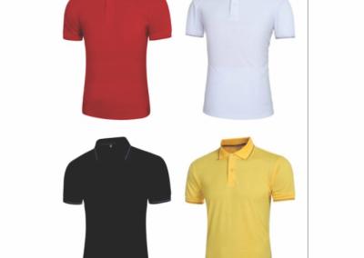 Camiseta polo estampada o sublimada personalizada