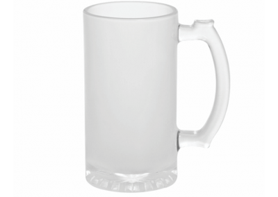 Jarra vidrio cerveza sublimacion estampado personalizado